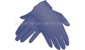 MP Latexové rukavice modré