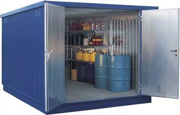 Modulový tepelne izolovaný skladový kontajner